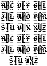 old english lettering fonts