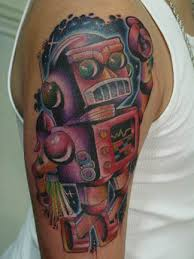 purple tattoo
