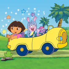 dora the explorer car