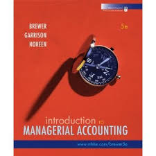 managerial accounting textbooks