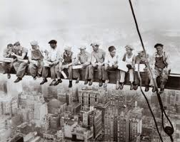 lunch on a skyscraper 1932