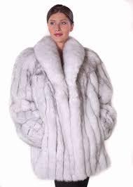 blue fox furs