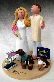 beach wedding toppers