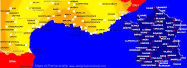 carte sud france
