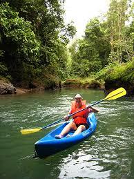 kayaking in costa rica