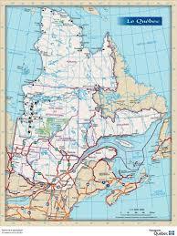 quebec road map
