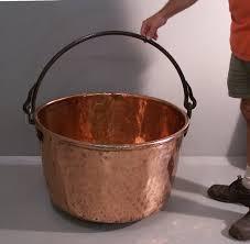copper buckets