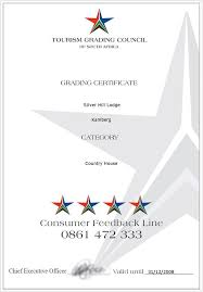 catering certificate