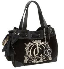 juicy couture black bag