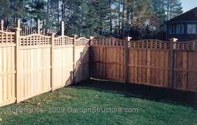 backyard fence designs