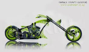 orange county choppers drawing