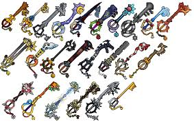 kingdom hearts 2 keyblades