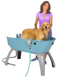 dog washing tub