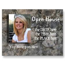 open house postcards