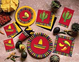mexican theme party supplies