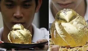 gold leaf chocolate
