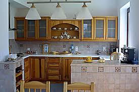 kuchnie drewniane