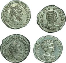 picture of old coins