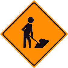 highway construction signs