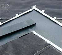 metal roof ridge cap
