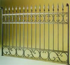 iron fence design