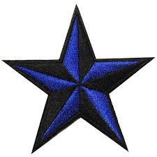 blue nautical star