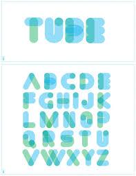 tube font