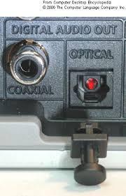 audio optical