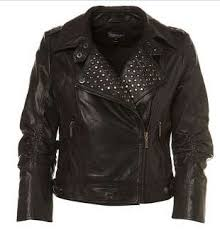 leather jacket studs