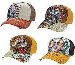 don ed hardy hats