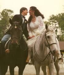 horses wedding