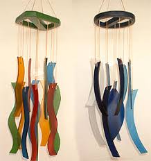 glass windchime