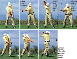golf swing iron