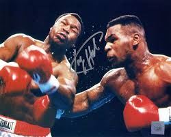 mike tyson larry holmes