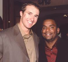 Drew Brees and Alfonso Ribeiro