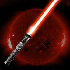 red light saber