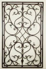 cast iron wall art