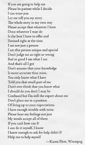 bullying poem