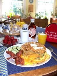 menu for breakfast