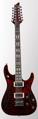 12 strings electric guitar