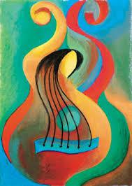guitar paintings