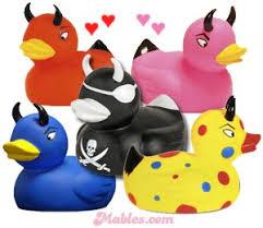 devil rubber ducks