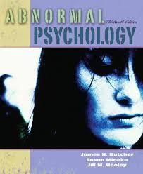abnormal psychology textbooks