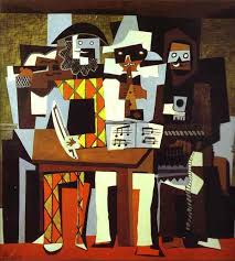 pablo picasso the three musicians