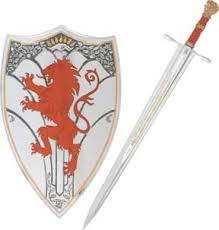 narnia sword and shield