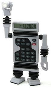 calculator robot