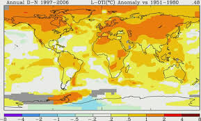 map global warming