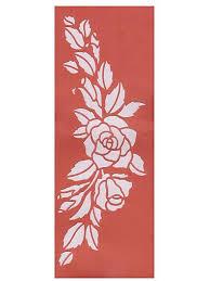 stencils floral