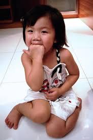 chinese little girls