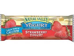 nature valley yogurt bars